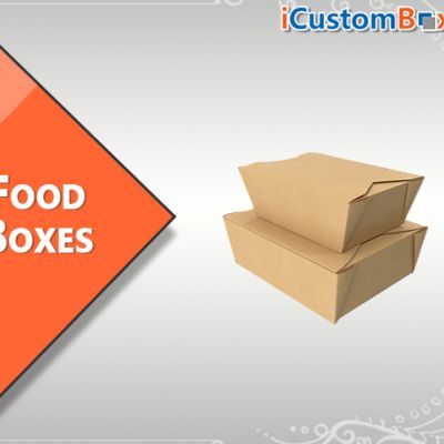 Order Now Custom Printed Cardboard Box For Food With Free Shipping