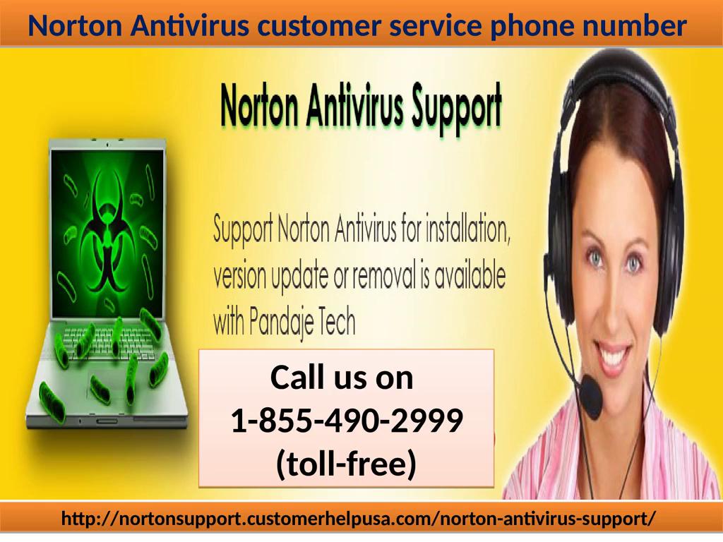 Norton Antivirus Customer Service Call On 1-855-490-2999 (toll-free)