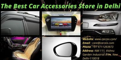 If you are looking for Genuine Car Accessories Store in Delhi India then you can visit at CARZEX.com. It is the best Car Accessories store in Delhi India. Anyone can contact us to buy   CAR BODY COVERS LED HEADLIGHTS CAR UTILITIESBIKE BODY COVERS CAR SEAT BACKRESTS CAR BAR FOG LIGHTS CAR CAMERAS CAR INTERIOR DECORATION LIGHTS CAR BUMPER PROTECTORS CAR CHROME ACCESSORIES CAR SIDE VIEW MIRRORS CAR PERFUMES CAR JUMP STARTERS CAR DOOR VISORS CAR REAR VIEW CAMERA SCREENS CAR FOOTMATS CAR EXTERIOR DECORATION LIGHTS BIKE BODY COVERS https://www.carzex.com/