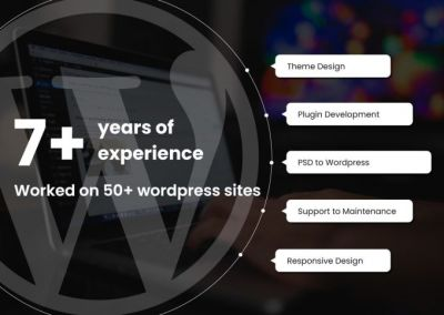 wordpress bug fix and optimization  As a full-stack freelancer, I have rich experience in WordPress design & development for 7+ years, so any requirement can be discussed with me regarding this field.  My skills you can consider are Wordpress with speed optimization, bug fixing, woocommerce, ignitiondeck, CF7, WPML, listify, jobify, AVADA, DIVI, elementor, plugin & theme customization, and anything related to wordpress  Frontend like jQuery, JavaScript, Ajax, AngularJS  Also, I have proven track of record of my design skills like PSD to HTML/Wordpress, Bootstrap, HTML5, CSS3.  I have also worked on SEO, Payment Integration and many other APIs like social media, google, SMS and Mails.  I sincerely hope to discuss in detail on your project and let's complete your requirements together.