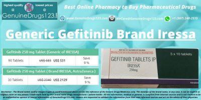 Generic #Gefitinib Brand #Iressa  Check Gefitinib/Iressa cost @ https://bit.ly/3dyoqdB  Contact Details  WeCare@GenuineDrugs123.com  #gefitinibtablets #iressa250mg #gefitiniblungcancer